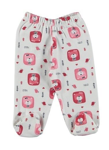 Locopop 2 li Patikli Pantolon Kırmızı